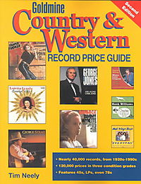 Goldmine Country & Western Record Price Guide