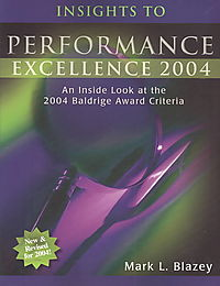 Insights to Performance Excellence 2004
