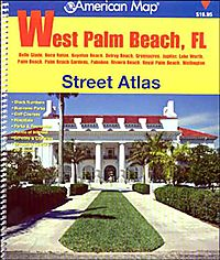 American Map West Palm Beach, Fl Street Atlas