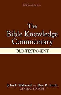 Bible Knowledge Commentary Old Testament