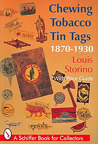 Chewing Tobacco Tin Tags, 1870-1930