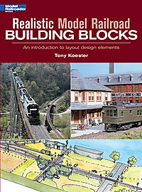 Realistic Model Railroad Building Blocks