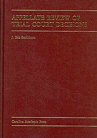 Appellate Review of Trial Court Decisions