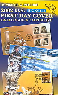 2002 U.S. First Day Cover Catalogue & Checklist
