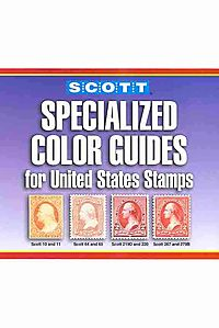 Scott's Specialized Color Guide for United States Stamps