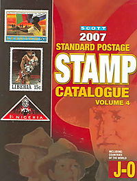 2007 Scott Standard Postage Stamp Catalogue including Countries of the World J-o