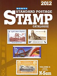 Scott Standard Postage Stamp Catalogue 2012