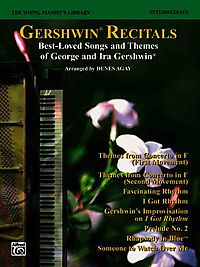 The Young Pianist's Library 14C - Gershwin Recital Pieces Level 3-4