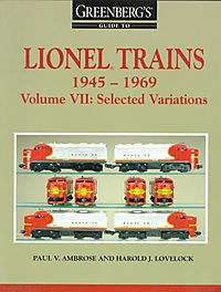 Greenberg's Guide to Lionel Trains 1945-1969