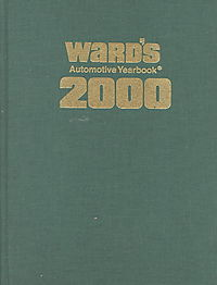 Ward's Automotive Yearbook 2000