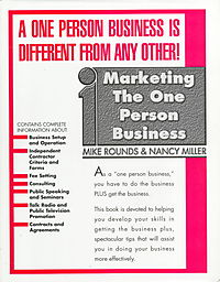 Marketing the One Person Business