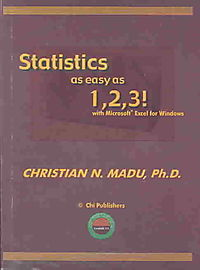 Statistics As Easy As 1,2,3