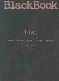 Black Book List, New York '04