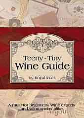 Teeny-Tiny Wine Guide Refrigerator Magnet Books