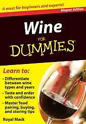 Wine for Dummies Refrigerator Magnet Books