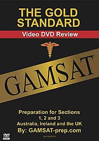The Gold Standard Gamsat Video DVD Review