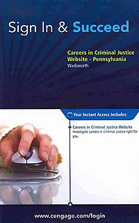 Careers in Criminal Justice Website Access Code