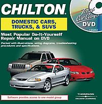 Chilton Total Car Care Domestic Cars, Trucks, Suvs and Vans