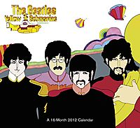 The Beatles Yellow Submarine 2012 Calendar
