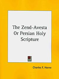 The Zend-Avesta or Persian Holy Scripture