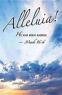 Alleluia! Easter Sunrise Bulletin 2012, Regular Size Package of 50