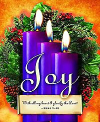 Advent Sunday 3 Purple Bulletin 2013, Large Size Package of 50
