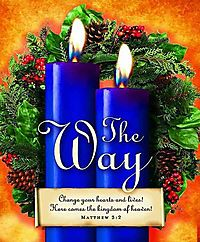 Advent Sunday 2 Blue Bulletin 2013, Large Size Package of 50