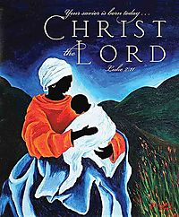 Christ the Lord Christmas Nativity Bulletin 2014, Large, Package of 50