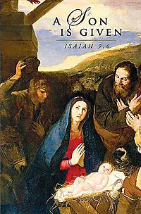 A Son Is Given Christmas Nativity Bulletin 2014, Regular Package of 50