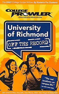 College  Prowler University of Richmond Off The Record