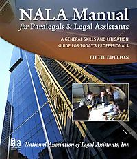 NALA Manual for Paralegals and Legal Assistants