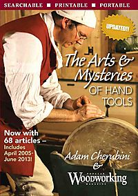 The Arts & Mysteries of Hand Tools