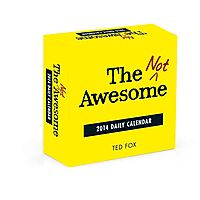 The Not Awesome 2014 Daily Calendar