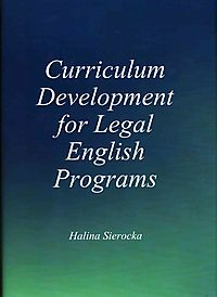 Curriculum Development for Legal English Programs