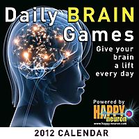 Daily Brain Games 2012 Calendar