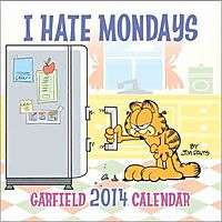 Garfield I Hate Mondays 2014 Calendar