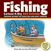 Fishing Cartoon-a-Day 2015 Calendar