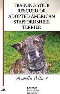 Training Your Rescued or Adopted American Staffordshire Terrier