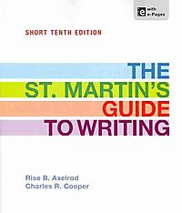 The St. Martin's Guide to Writing, Short 10th Ed. + A Pocket Style Manual, 6th Ed. + LearningCurve Access Code