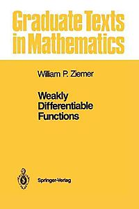 Weakly Differentiable Functions
