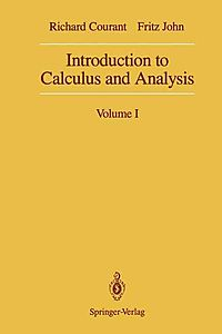 Introduction to Calculus and Analysis