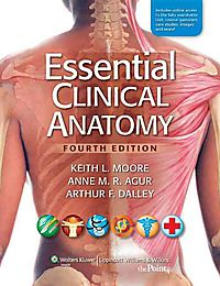 Moore Essential Clinical Anatomy, 4th Ed. + Moore's Clinical Anatomy Review Powered by Prepu