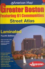 American Map Greater Boston Street Atlas