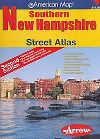 American Map Southern New Hampshire