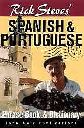 Rick Steves' Spanish & Portugese Phrasebook & Dictionary