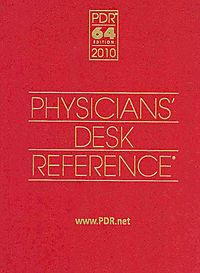Physicians' Desk Reference 2010