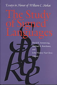 The Study of Signed Languages