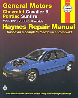 haynes chevrolet cavalier pontiac sunfire automotive repair manual rh hpb com 2000 pontiac sunfire owner's manual 2000 pontiac sunfire owner's manual