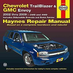 haynes chevrolet trailblazer gmc envoy oldsmobile bravada buick rh hpb com 2004 envoy repair manual 2004 envoy repair manual book free pdf