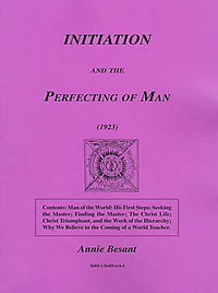 Initiation and the Perfecting of Man (1923)
